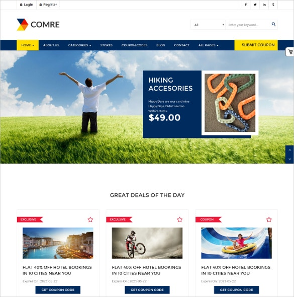 online shop coupon codes wordpress theme 59
