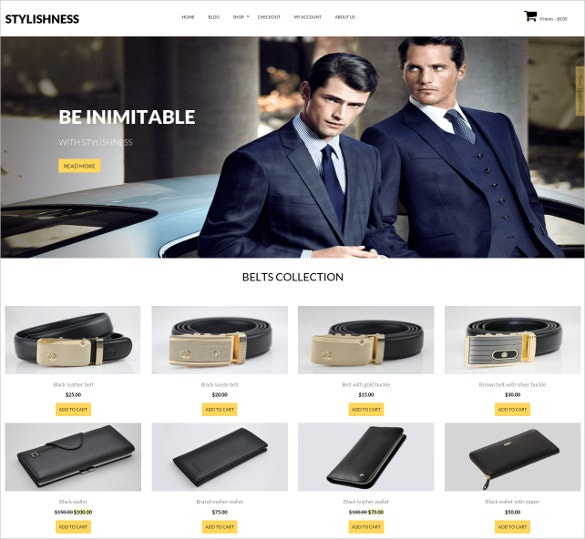 stylishness wordpress onlinee commerce theme 39