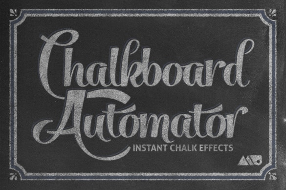 chalkboard automator fonts download