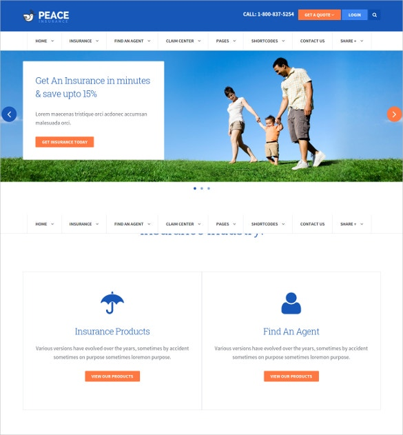 mortgage insurance agency wordpress theme 49