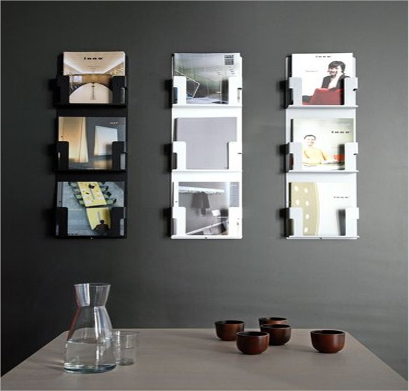 mounted case brochure rack download