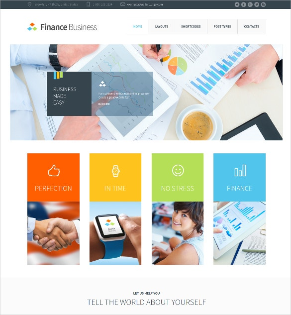 mortgage company office corporate wordpress theme 59