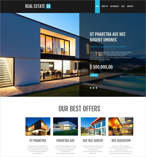 mortgage services wordpress theme 38