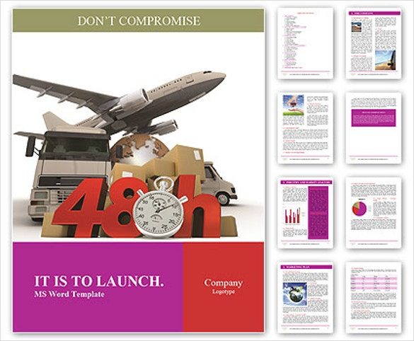 12 free download travel brochure templates in microsoft for Word 2010 brochure template