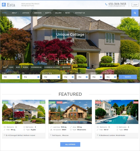 mortgage business real estate wordpress theme 49