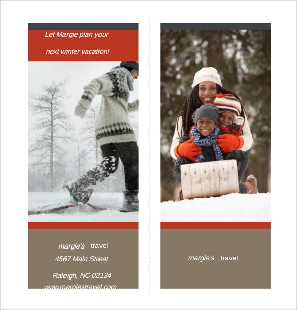 travel brochure word format free download