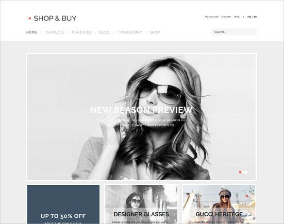 shopping joomla website template
