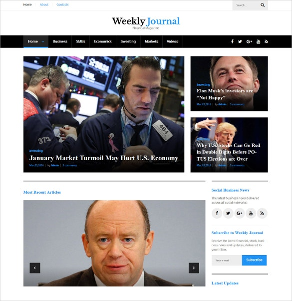 financial news blog wordpress theme 28