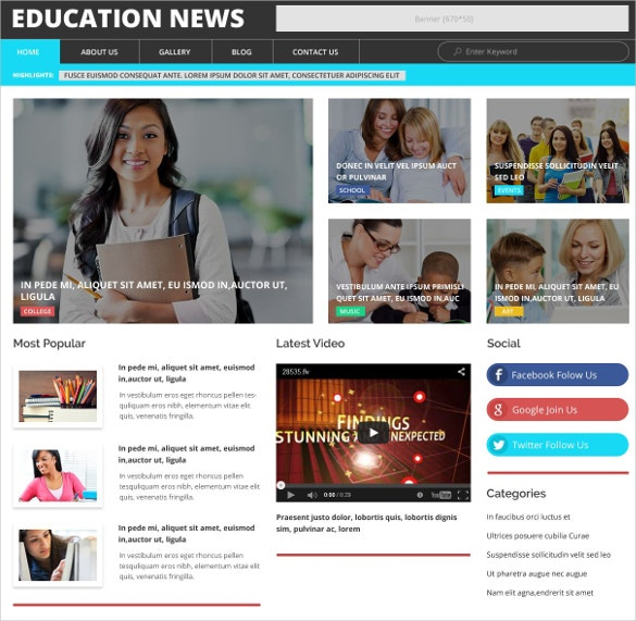 education news blog wordpress theme 38