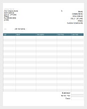 Sample Credit Memo Template Free Download