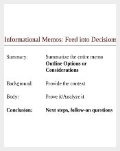 professional memo template