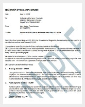 Annual Audit Plan Memo Template Sample Format