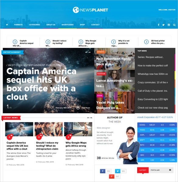 news planet blog wordpress theme 59