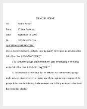 Sample Email Memo Template Free Download