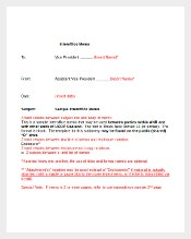 Sample Interoffice Memo Template Free Download