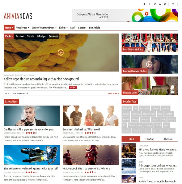 multipurpose news magazineblog wordpress template 59