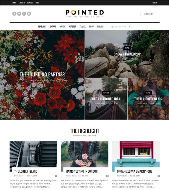 lifestyle blog news wordpress theme 48