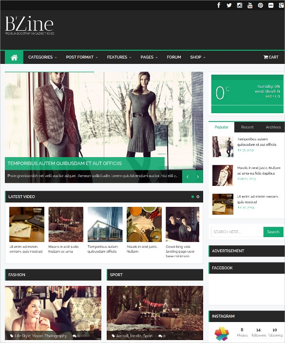 news blog portal wordpress magazine theme 49
