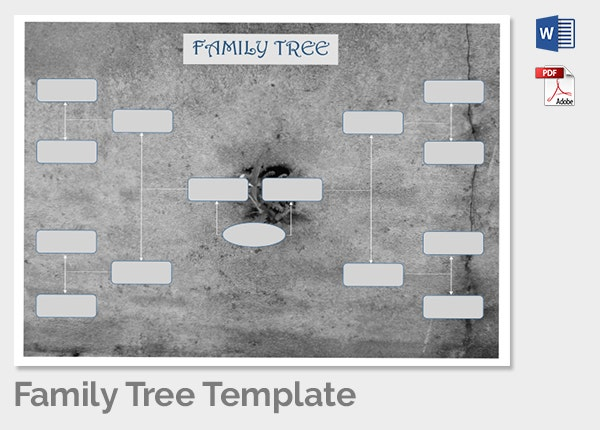 Family Tree Template 6