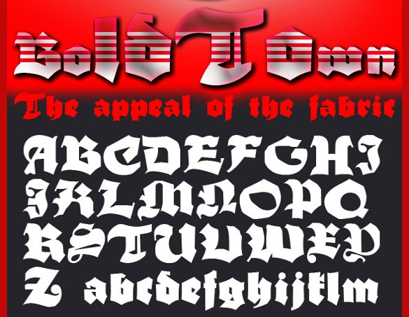 bold towne fonts free download