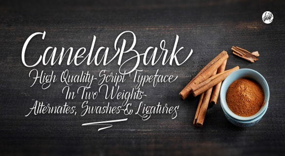 canela bark bold fonts download