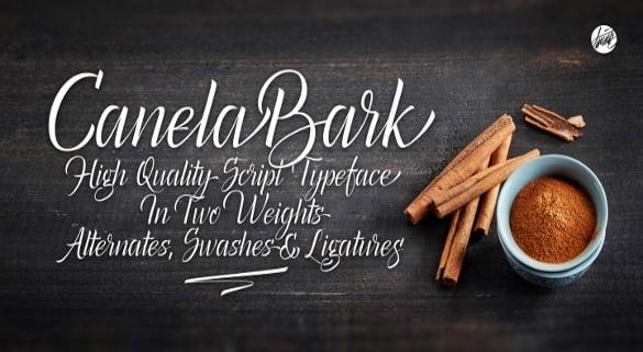 canela bark bold fonts download
