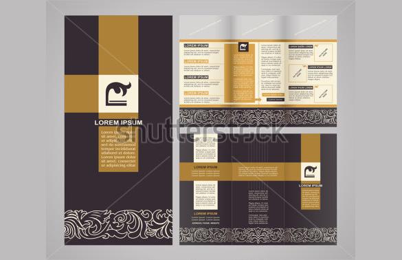 modern art brochure download
