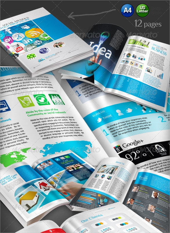 Superb Bifold Corporate Business Brochure Template, A Perfect 4 In 1 Bundle  That Includes 4 Best Corporate Sales Brochures. The Various Features Of  This ...