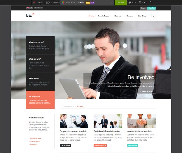 31 business joomla themes templates free premium templates responsive business joomla template free demo download wajeb Gallery