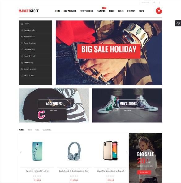 multipurpose ecommerce magento theme