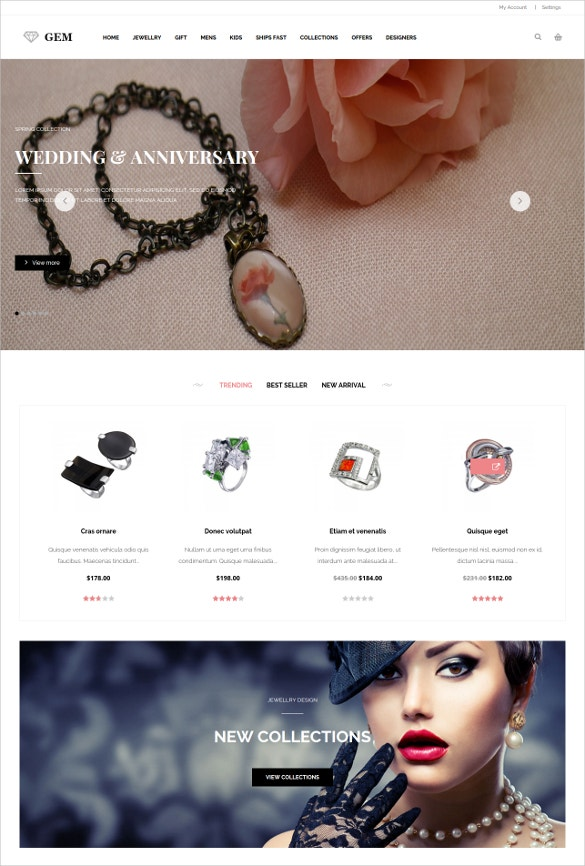 ecommerce wedding shopping magento theme