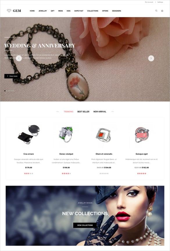 ecommerce wedding shopping magento theme