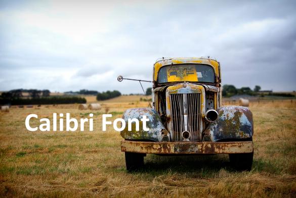 calibri bold font download