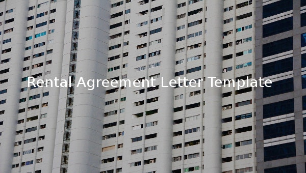 rentalagreementlettertemplate