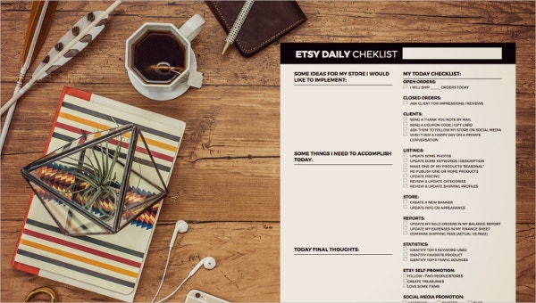 featured image daily checklist template