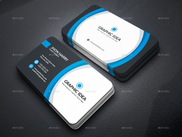 Business card 50 free psd ai vector eps format download free graphic idea business cards download reheart Images