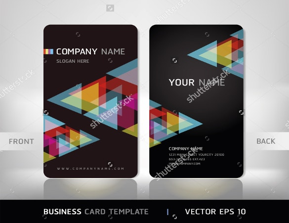 vector illustration business cards download