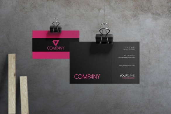 flare corporate business card download