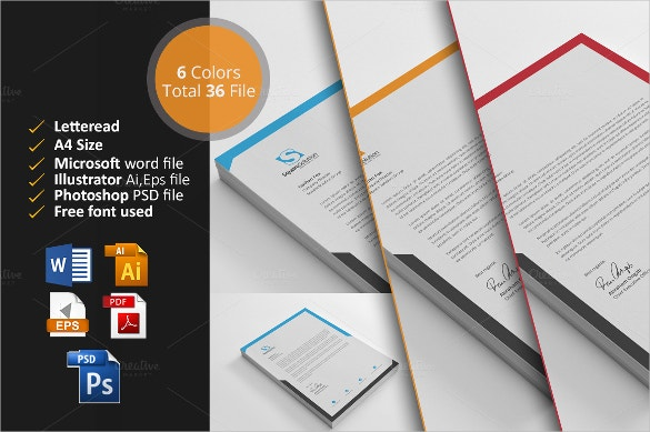 35+ Free Download Letterhead Templates In Microsoft Word