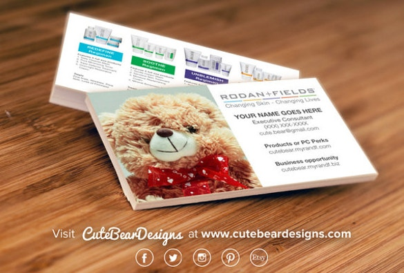 custom rodan business cards download