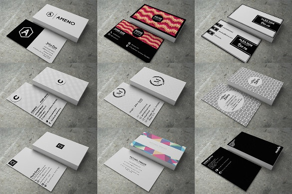 30 modern business cards download