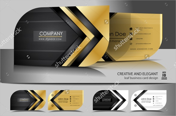 creative leaf business cards download