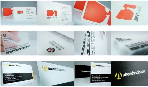 realized business cards download
