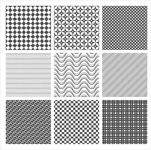 9 varieties of tile patterns for download