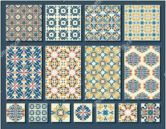attractive tile pattern for download