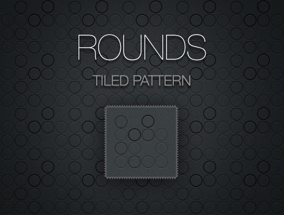 rounds tiled pattern for download
