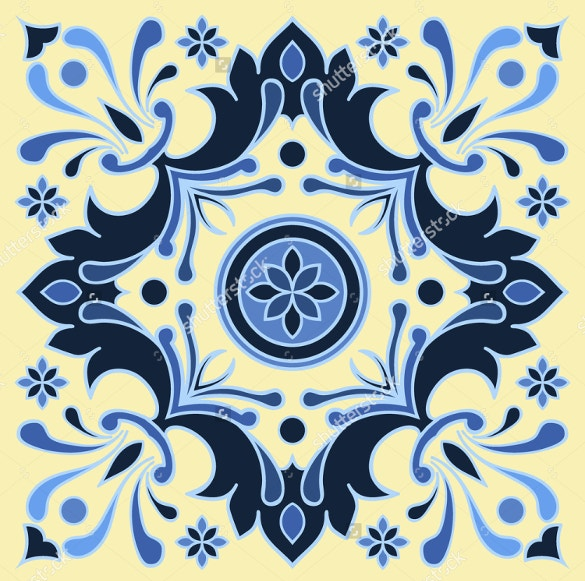 italian style tile pattern for download