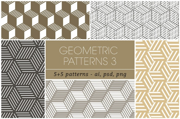 geometric tile pattern for download
