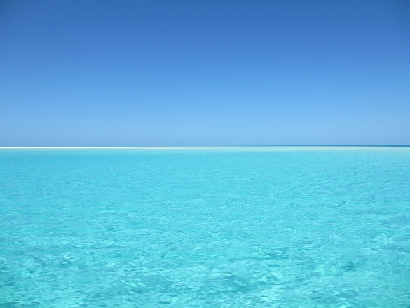 blue ocean background download