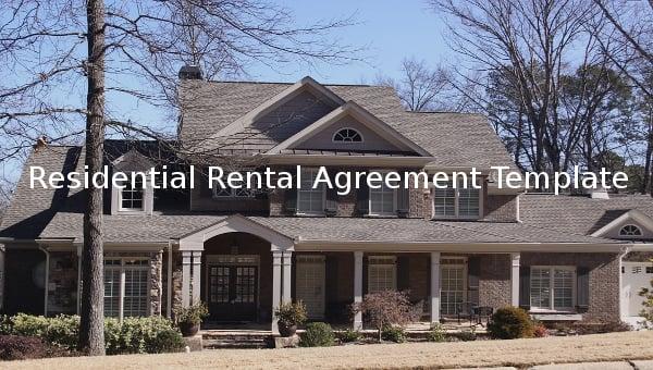 residentialrentalagreementtemplate